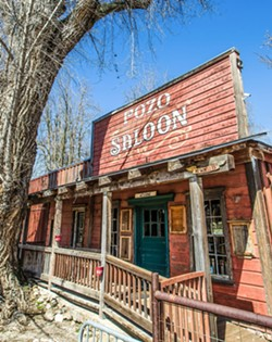 SAYING NO On April 6, SLO County supervisors denied a cannabis project proposed by the owners of the Pozo Saloon (pictured). - FILE PHOTO BY JAYSON MELLOM