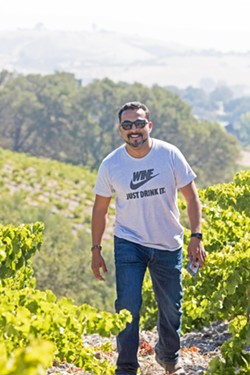 SELF-MADE Winemaker Edgar Torres makes Spanish wines for his Bodega de Edgar label and Paso Robles Rhones for Straight Out Of Paso. - PHOTOS COURTESY OF BRITTA ROBERTS