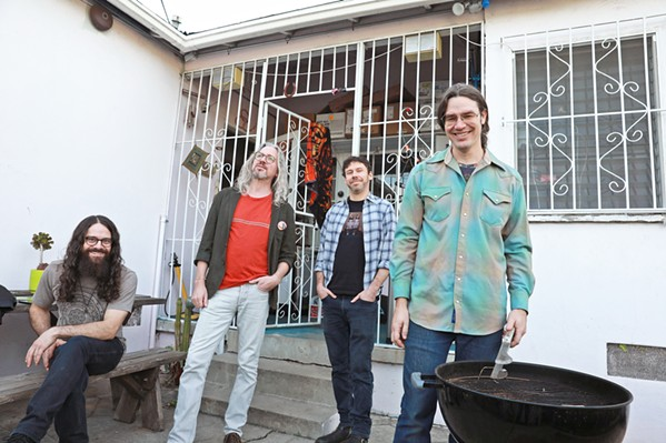 TASTY JAM Instrumental jammers Circles Around the Sun play an intimate, seated show at SLO Brew Rock, on May 6. - PHOTO COURTESY OF CIRCLES AROUND THE SUN