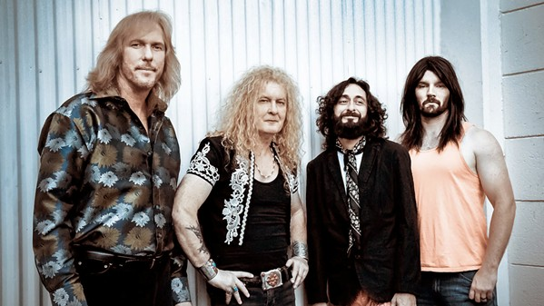 Led Zeppelin tribute band Led Zepagain plays BarrelHouse Brewing on May 13