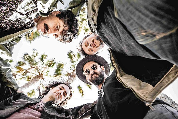 ALT-ROCKERS Balto brings their original rock, Americana, blues, gospel, and more to SLO Brew Rock on May 8. - PHOTO COURTESY OF BALTO