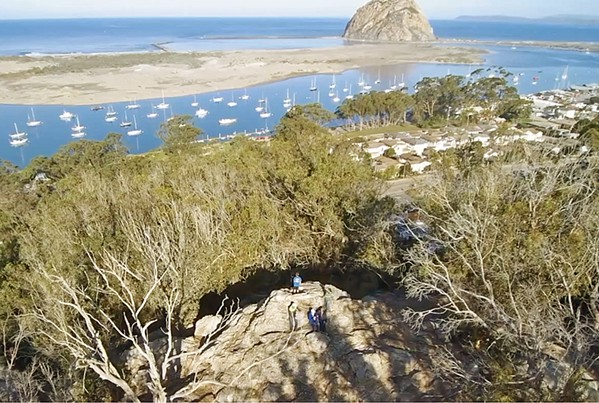 OPEN FOR ALL The Morro Bay community can continue enjoying Eagle Rock, also known as Cerrito Peak, knowing it will be safe from development. - PHOTO COURTESY OF ZEKE TURLEY