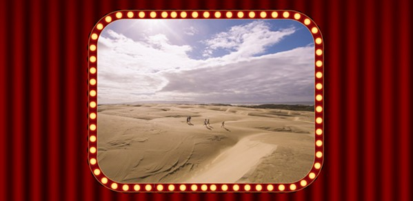 DUNES ON CAMERA Hollywood films, music videos, commercials, and more have been filmed at the Oceano Dunes SVRA over the years. Now State Parks has to figure out if it will be an allowable use in the future. - COVER PHOTO COURTESY OF VISIT SLO CAL