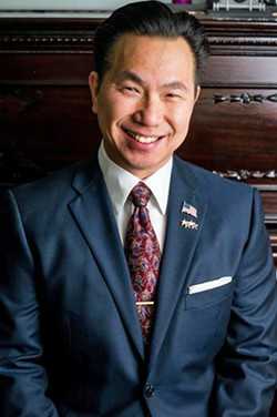 LEADERSHIP VOID SLO County Clerk-Recorder Tommy Gong (pictured) will leave his post as the top election official on July 2. - PHOTO COURTESY OF TOMMY GONG'S FACEBOOK PAGE