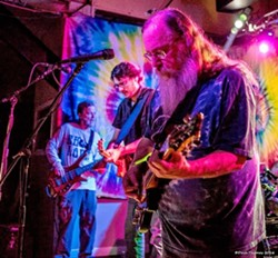 GET GRATEFUL Grateful Dead tribute act Cubensis resurrects The Dead's '60s through '80s sounds on July 3 at SLO Brew Rock. - PHOTO COURTESY OF DAVE THOMAS