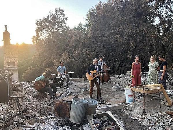 COSMIC MOUNTAIN GOSPEL Folk blues act Wolf Jett plays SLO Brew Rock on July 9. - PHOTO COURTESY OF WOLF JETT