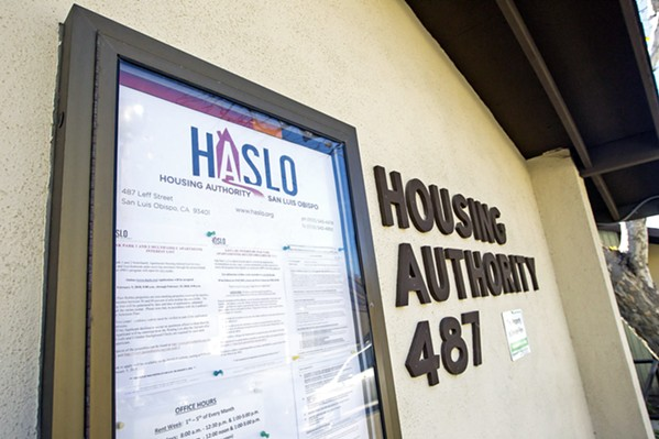 NEW VOUCHERS The Housing Authority of SLO recently received dozens of new housing vouchers, similar to Section 8, that will aid residents facing homelessness. - FILE PHOTO BY JAYSON MELLOM