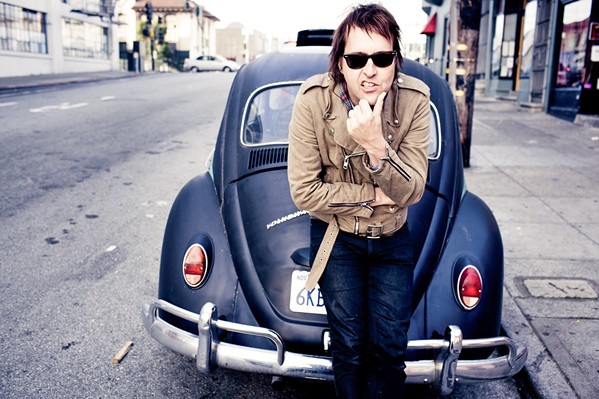 S'UP, CHUCK? Chuck Prophet and The Casual Coalition will re-create Bob Dylan's 1975 double-album The Basement Tapes on July 24 at SLO Brew Rock. - PHOTO COURTESY OF CHUCK PROPHET