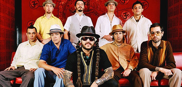 LATIN FUNK Numbskull and Good Medicine bring B-Side Players to The Siren on Aug. 5. - PHOTO COURTESY OF B-SIDE PLAYERS
