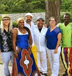 RIDDEMS Amazing Afro-Brazilian act SambaDá plays a Numbskull and Good Medicine show at Castoro Cellars on Aug. 14. - PHOTO COURTESY OF SAMBADA
