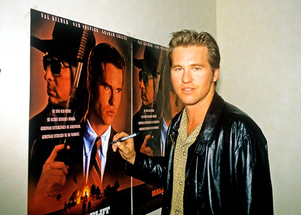 MOVIE STAR Val, screening on Amazon Prime, is a revealing and sometimes tragic look into the life of movie star Val Kilmer from childhood, early struggle, stardom, throat cancer, and working the autograph circuit. - PHOTO COURTESY OF A24, BOARDWALK PICTURES, AND CARTEL FILM PRODUCTION