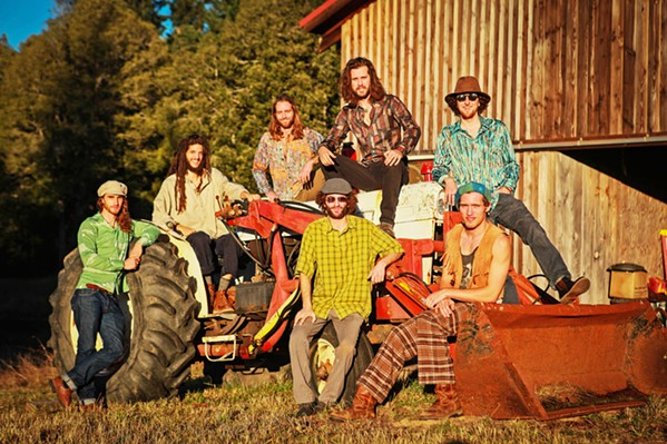 'SATISFACTION' Hailing from the Redwoods, funk and soul act Diggin' Dirt plays SLO Brew Rock on Aug. 28. - PHOTO COURTESY OF DIGGIN' DIRT