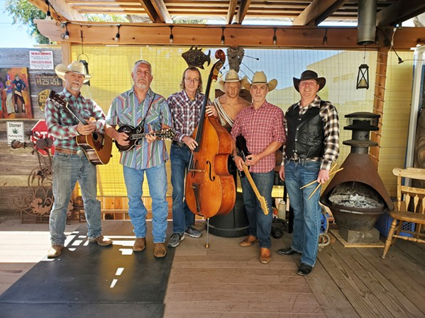 'CHATTANOOGA DOG' Americana and honky-tonk cover band the Lucky Nines plays Santa Margarita's The Range on Aug. 26. - PHOTO COURTESY OF THE LUCKY NINES