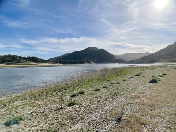 RESERVOIR RESILIENCE Arroyo Grande buckles up to save water in Lopez Lake through conservation. - PHOTO BY ALEX ZUNIGA