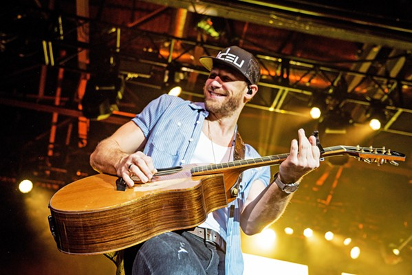 DRINK BEER. TALK GOD. Country-pop singer Chase Rice plays the Vina Robles Amphitheatre on Friday, Sept. 3. - PHOTO COURTESY OF CHASE RICE