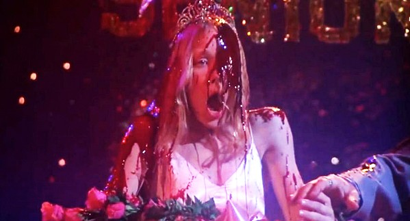BEST PROM EVER Sissy Spacek (pictured) stars as Stephen King's iconic teenage loner with telekinetic powers in director Brian De Palma's horror classic, Carrie. - PHOTO COURTESY OF UNITED ARTISTS