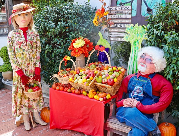 LUCKY 13 The 13th annual Cambria Scarecrow Festival runs Oct. 1 to 31. Displays are recycled and redesigned every two years. - PHOTO COURTESY OF CAMBRIA SCARECROW FESTIVAL