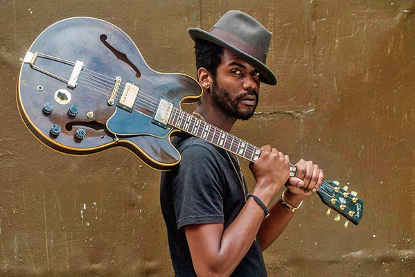 JIMI JUNIOR Gary Clark Jr.'s guitar work has been compared to everyone from Clapton to Hendrix, and on Sept. 17, he'll play the Avila Beach Golf Resort. - PHOTO COURTESY OF GARY CLARK JR.
