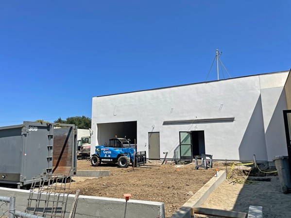 NOT OPEN Natural Healing Dispensary, Helios Dayspring's former company, must open its doors in SLO (pictured) before Oct. 22, or risk losing its permit, according to city officials. - PHOTO BY PETER JOHNSON