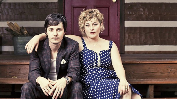 CAROLINA TWO Husband-and-wife duo Shovels & Rope brings their Americana sounds to the Fremont Theater on Sept. 28, as part of their Bare Bones Tour of stripped down piano, guitar, and voice. - PHOTO COURTESY OF SHOVELS & ROPE