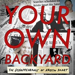 NO. 1 PODCAST Chris Lambert's local podcast, Your Own Backyard, rose to the top of the iTunes charts in April following the arrests of Kristin Smart's murder suspects, Paul and Ruben Flores. - IMAGE COURTESY OF CHRIS LAMBERT