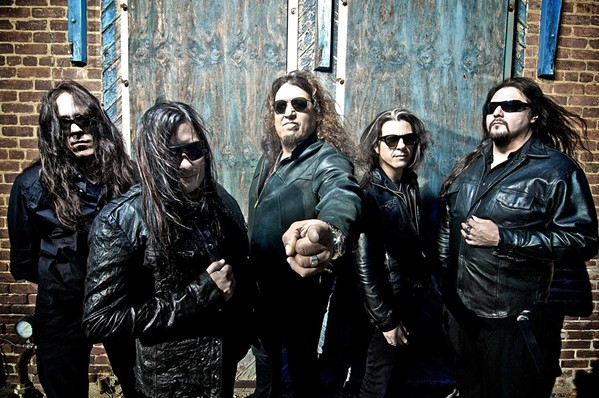 GET THRASHED Testament, touring in support of Titans OF Creation, plays the Fremont Theater on Oct. 6. - PHOTO COURTESY OF TESTAMENT