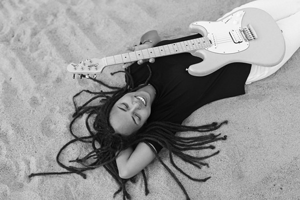 EARTHY Soulful singer-songwriter Crimson Skye plays Paso's Broken Earth Winery on Oct. 9, in support of her new album The Far Side. - PHOTO COURTESY OF CRIMSON SKYE
