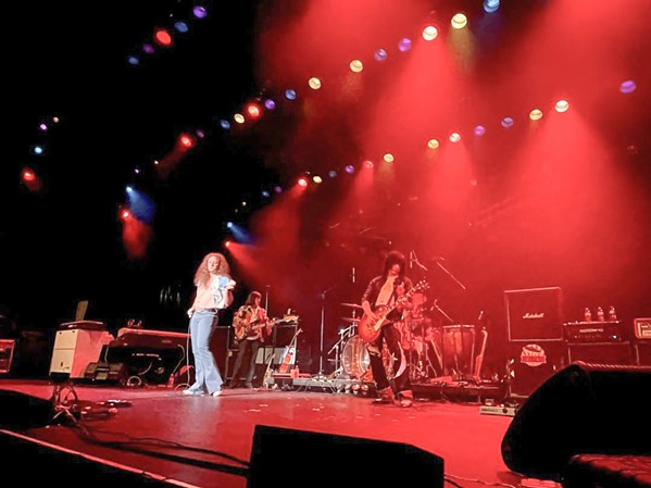 ZEP HOMAGE Led Zeppelin tribute act No Quarter plays Paso's Rava Wines on Oct. 16. - PHOTO COURTESY OF NO QUARTER