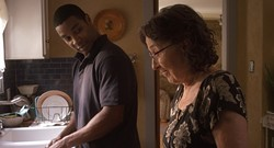 FISH DISH:  Filmmaker Shayna Cohen's short, 'Gefilte Fish,' offers the story of an unlikely friendship between an elderly Russian widow and a young, African-American man. - PHOTO COURTESY OF SLOJFF