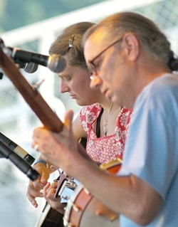 HILL FOLK :  Hear the original Appalachian folk songs of Jeni & Billy on May 10 at The Porch. - PHOTO COURTESY OF BILLY & JENI