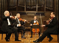 SINCE 1946!:  On Jan.17, The Fine Arts Quartet plays an all-Beethoven program at Cal Poly's Alex and Faye Spanos Theatre. - PHOTO COURTESY OF THE FINE ARTS QUARTET