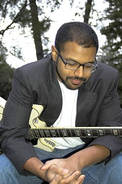 MUSICIANS IN RESIDENCE :  Visiting singer-songwriters Bhi Bhiman and Richard Julian will perform their lyrical masterpieces at the Clubhouse in SLO on Sunday, Sept. 14, and the following two Sundays as well. - PHOTO COURTESY OF BHI BHIMAN