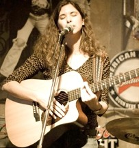 ASS-KICKING GODDESS:  Singer-songwriter Mare Wakefield sings songs about tough women on May 16, at Linnaea's Cafe - PHOTO COURTESY OF MARE WAKEFIELD