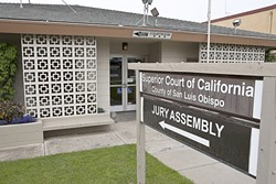 JURY IS OUT :  San Luis Obispo County Superior Court officials plan to shut down the Grover Beach location to help with more than $1 million in budget cuts. - PHOTO BY STEVE E. MILLER
