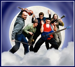 HOWL AT THE MOON! :  World Wind will deliver two hours of world beat improv on April 29 at The Clubhouse. - PHOTO COURTESY OF WORLD WIND