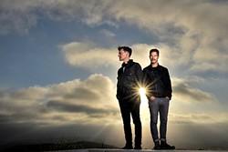 DRUM 'N' BASS :  Instrumental live-looping duo El Ten Eleven plays SLO Brew on Dec. 12. - PHOTO COURTESY OF EL TEN ELEVEN