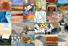 APPETIZERS :  A small sampling of what Open Studio attendees can expect to see during the three-weekend event. - IMAGE COURTESY OF ARTS OBISPO
