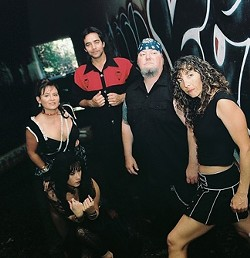ROLLING THUNDER :  Hardcore rockers Ragg (pictured) headline a show with L.A.'s new darling The Fabulous Miss Wendy and Depths of Chaos on Jan. 16 at Hoovers Live. - PHOTO COURTESY OF RAGG