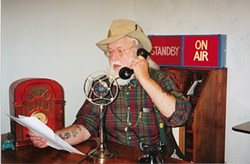DEAD BUT NOT GONE :  U. Utah Phillips, the deceased folk singer and raconteur, will live on in a new locally aired TV series, Loafer's Glory: The Hobo Jungle of the Mind, broadcast on Public Access Channel 2 beginning Sept. 2. - PHOTO COURTESY OF DAVID BAUMGARTEN