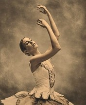 STUFFED WITH FLUFF :  Did you know one tutu can cost $400 to $500? Pictured is the Civic Ballet's Helene Dinsmoor. - PHOTO BY BARRY GOYETTE