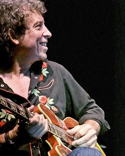 GUITAR GOD:  Think of Elvin Bishop as a gunslinger other musicians hire to make their records hit the target, or think of him as an amazing performer in his own right, when he headlines a three-band blues show on Feb. 27 at the PAC. - PHOTO COURTESY OF ELVIN BISHOP