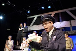 EVERY TIME YOU SEE A PLAY …:  It's a Wonderful Life runs through Sunday, Dec. 23. Shows take place Thursdays, Fridays, and Saturdays at 7 p.m. and Sundays at 2 p.m. Tickets cost $15 for students, $19 to $22 for seniors, and $22 to 25 for everyone else. - PHOTO BY STEVE E. MILLER