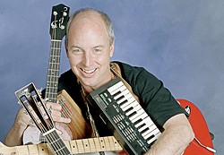 KID'S STUFF :  Two-time Grammy Award winner, NPR commentator, and acclaimed children's storyteller and musician Bill Harley will bring his delightful show to Cal Poly's Spanos Theatre on Oct. 16. - PHOTO COURTESY OF BILL HARLEY