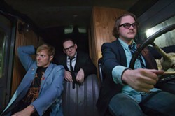 BAND ON THE RUN:  The indie film 'Big In Japan' tells the tale of that classic maxim: You can take a Seattle band to Tokyo, but you can't take the Seattle out of the band. - PHOTO COURTESY OF SLOIFF