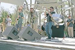 """ECO TUNES!:  Zongo All Stars will bust out some eco- and ear-friendly tunes when they perform at the 21st Annual Earth Day, """"Growing the Village,"""" on April 21 at the Botanical Garden at El Chorro Regional Park. - PHOTO COURTESY ZONGO ALL STARS"""