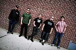 DON'T JUDGE A BAND BY ITS COVER :  They look like a punk band, but The Aggrolites are a rootsy reggae act that isn't afraid to cover The Beatles. See them Sept. 14 at SLO Brew. - PHOTO COURTESY OF THE AGGROLITES