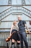 ON THE ROAD:  Husband and wife duo You Knew Me When (Karis and Cie Hoover) has been on continuous tour for two and a half years, and on March - 21 they'll bring their Nashville sounds to Luna Red and then to Pappy McGregor's on March 28. - PHOTO BY KENDRA BOMAR AND REESE FAW