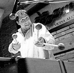 JAZZ LION :  On April 19, NYC vibraphonist Mark Sherman plays the Hamlet. - PHOTO COURTESY OF MARK SHERMAN