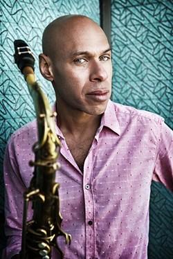 JAZZ LION:  Amazing tenor saxophonist Joshua Redman headlines the all-day SLO Jazz Fest on May 16 in the SLO Mission Plaza. - PHOTO COURTESY OF JOSHUA REDMAN