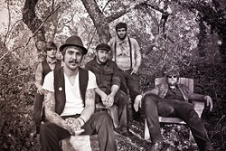 ROUGH AROUND THE EDGES :  The Ragged Jubilee will release their new album, In the Valley, April 7 at SLO Brew. - PHOTO BY JONATHAN DAVID